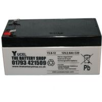 Y2.8-12 Yuasa Yucel Battery | £6.66 Ex VAT Buy online from The Battery Shop